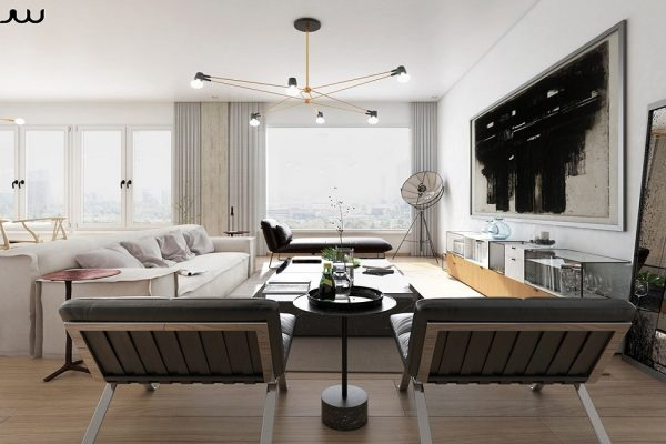 6 Original ideas for furnishing modern apartments