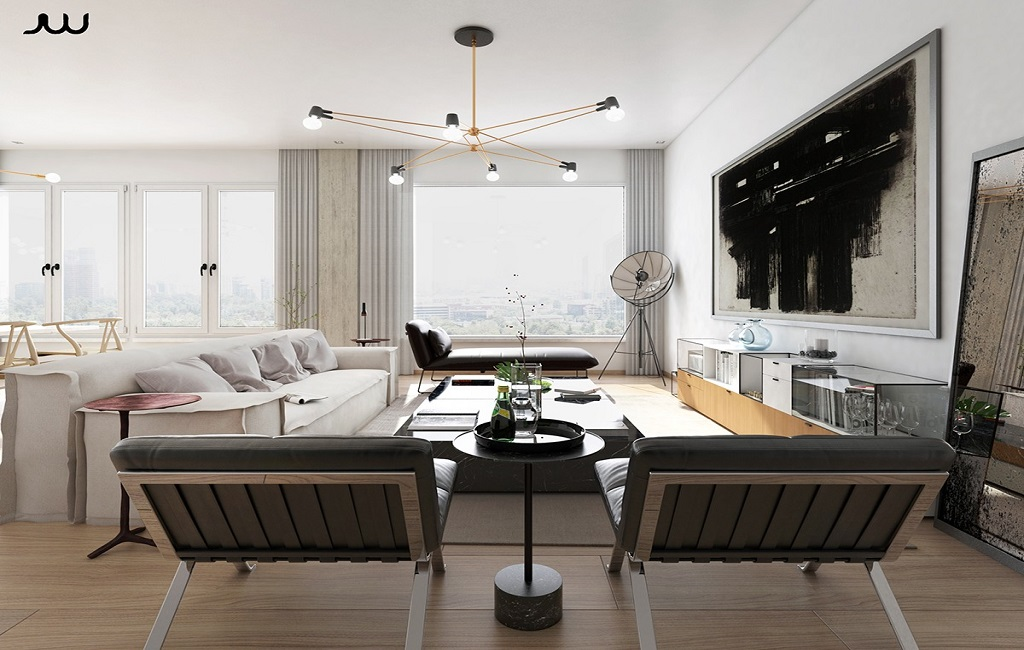 ideas for furnishing modern apartments