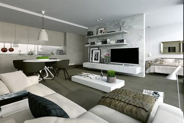 Ideas for modern apartments will inspire you